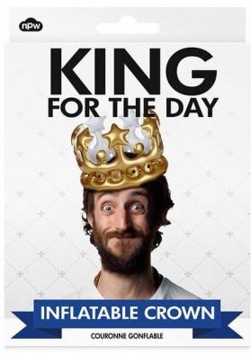Corona hinchable Rey