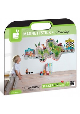 Magnetistick racing