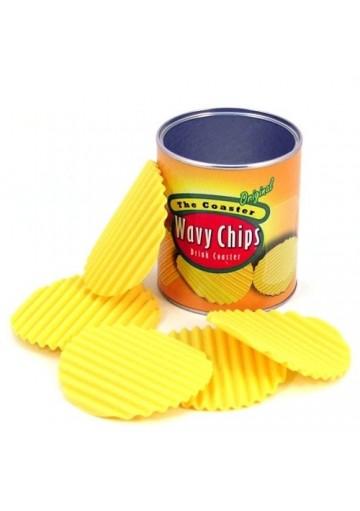 Posavasos chips