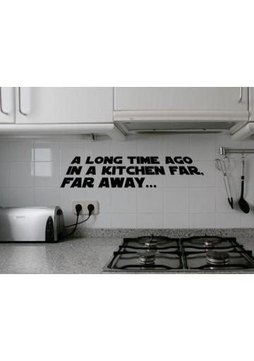 Vinilo galaxy kitchen