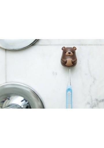 Soporte cepillo dientes oso