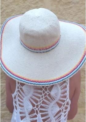 Sombrero mini rayas