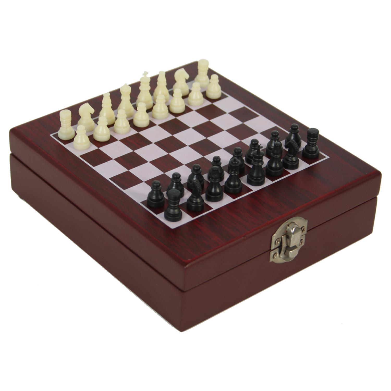 ajedrez madera
